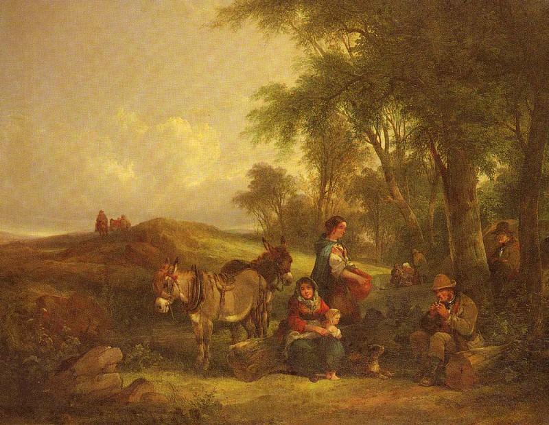 Shayer William Afternoon Rest. Уильям Шайер