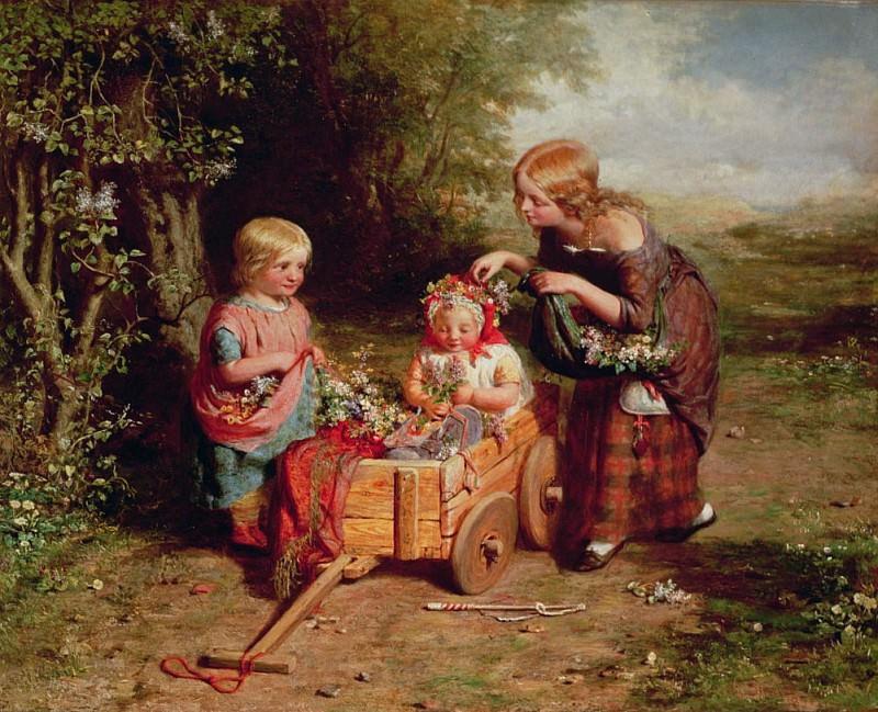 Весенние цветы. Джордж Смит