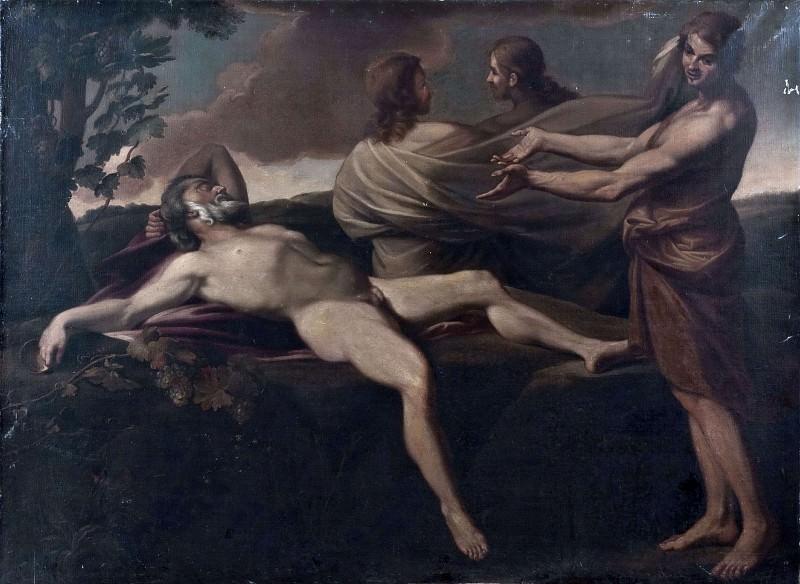 Ной и его сыновья. Андреа Сакки (Последователь)