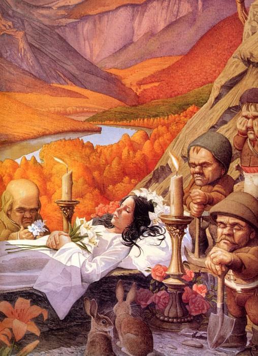 Snow White. Charles Santore