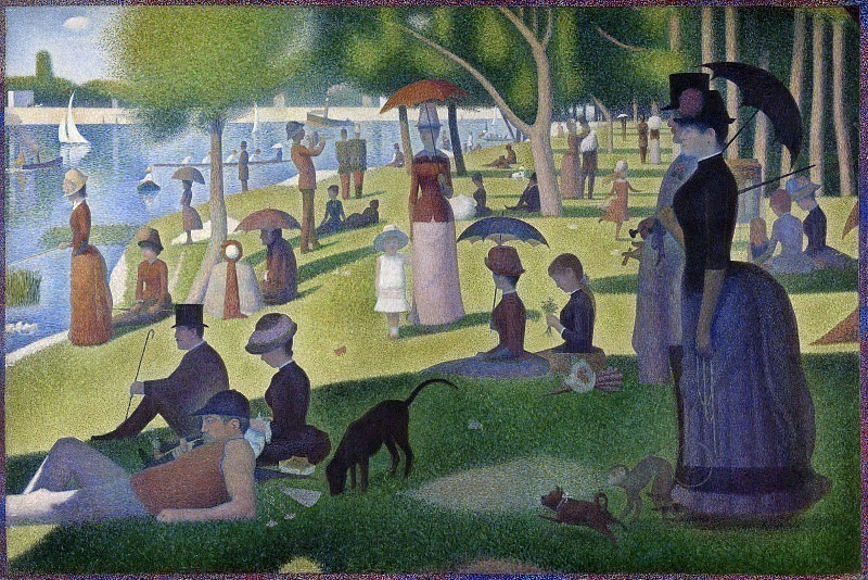 Seurat A Sunday Afternoon on the Island of La Grande Jatte,. Georges Seurat