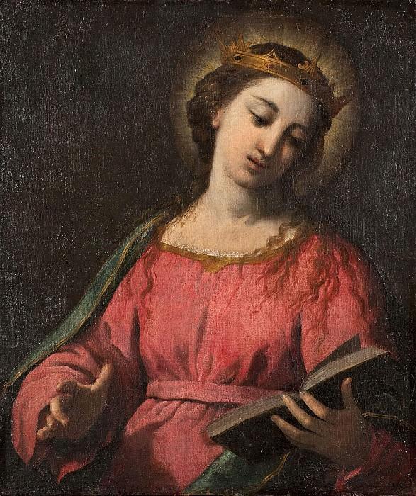 Female Saint. Scarsellino (Ippolito Scarsella)