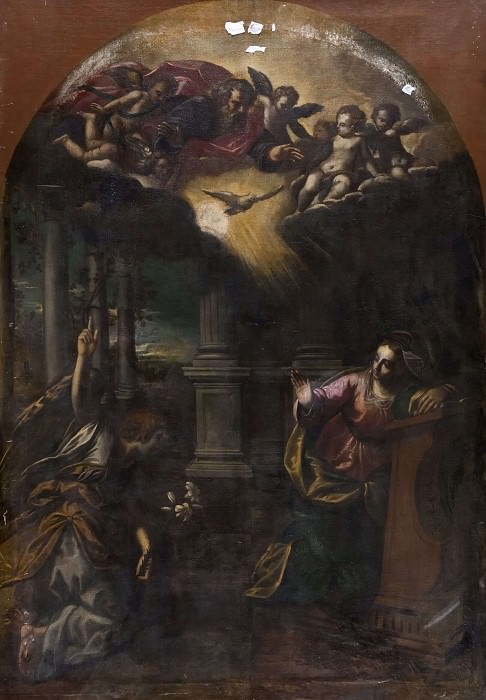 The Annunciation. Scarsellino (Ippolito Scarsella)