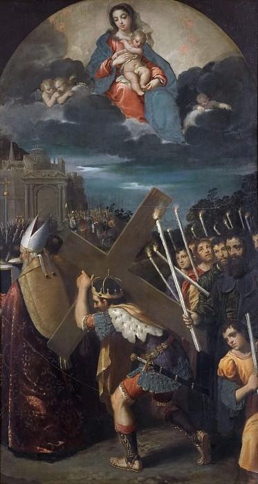 Император Ираклий, несущий крест в Иерусалим. Скарселлино (Ипполито Скарселла) (Манера)