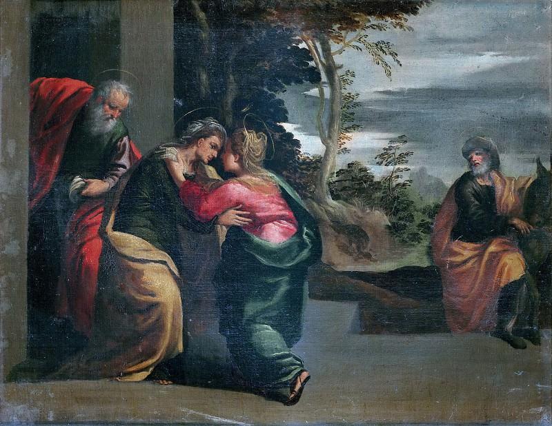 The Visitation. Scarsellino (Ippolito Scarsella)