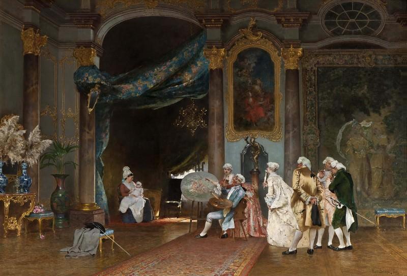 A Séance. Hugo Federick Salmson
