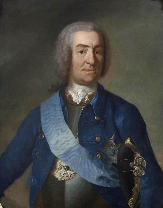 Mattias Alexander von Hungary-Sternberg (1689-1763), free lord. Johan Henrik Scheffel (Attributed)