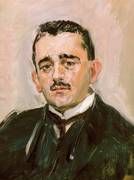 Portrait of Bruno Cassirer. Max Slevogt