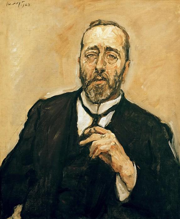 Bernhard Dernburg. Max Slevogt