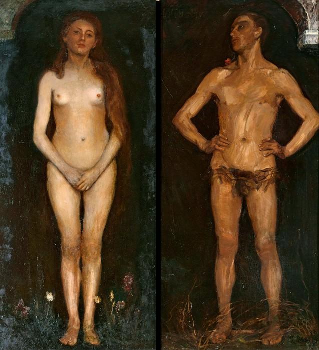 Мужчина и женщина. Макс Слефогт