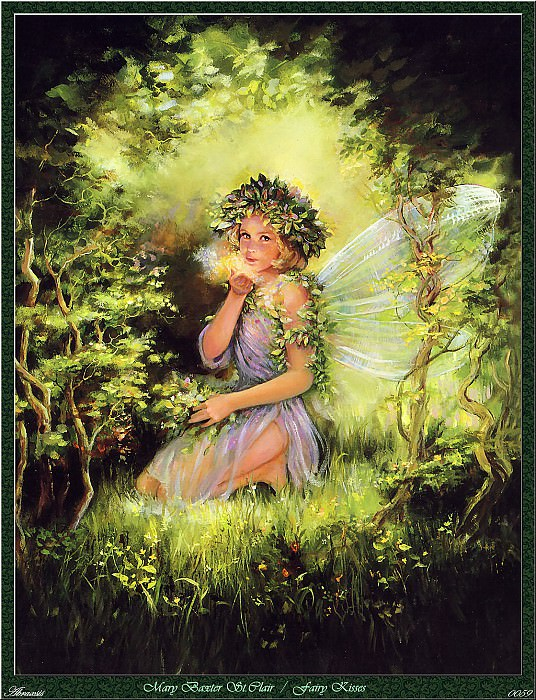 Mary Baxter St.Clair - Fairy Kisses (Abraxsis). Mary Baxter Stclair