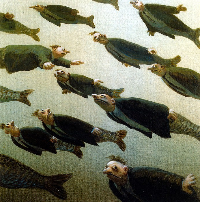 Sa09 School of Fish MichaelSowa sqs. Михаэль Сова