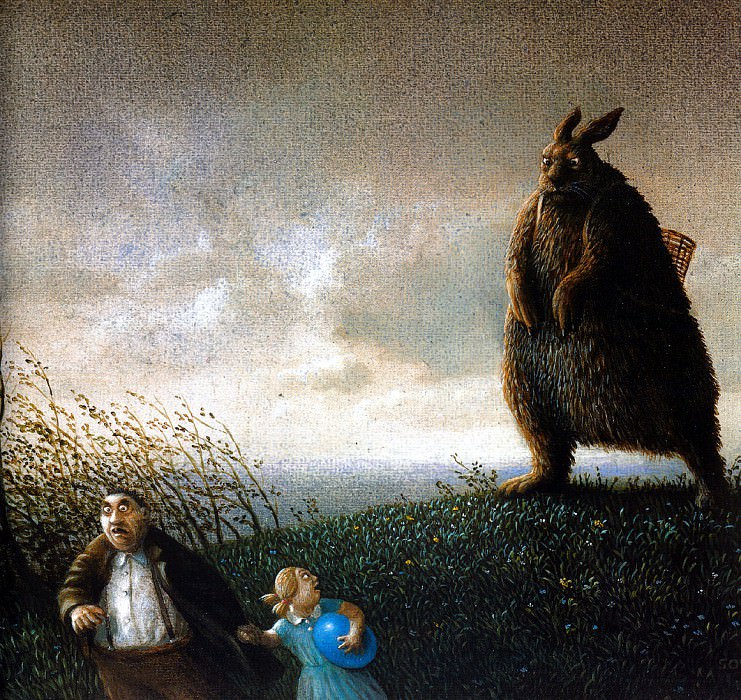 Sa50 Happy Easter MichaelSowa sqs. Michael Sowa