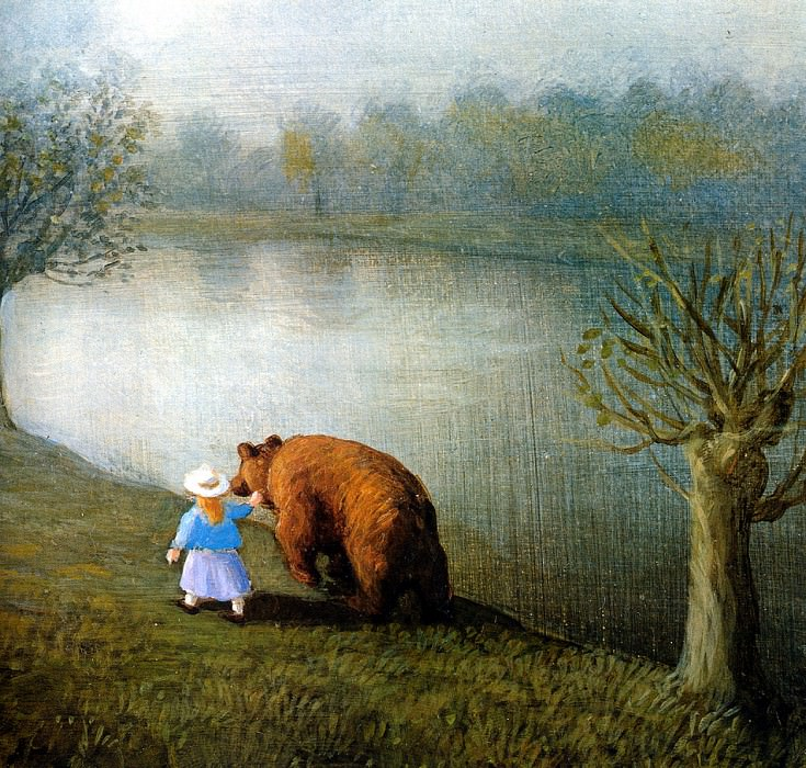 Sa15 The Bear MichaelSowa sqs. Michael Sowa