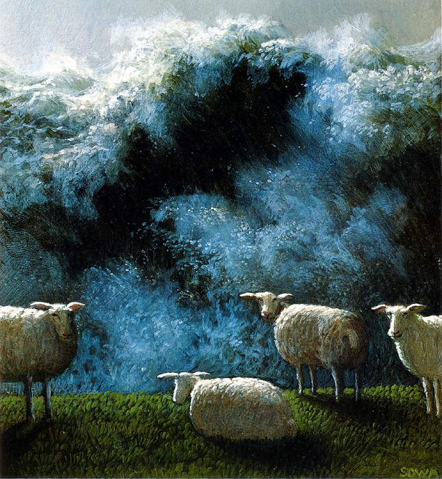 Sa16 The Great Spring Tide of 1858 MichaelSowa sqs. Michael Sowa