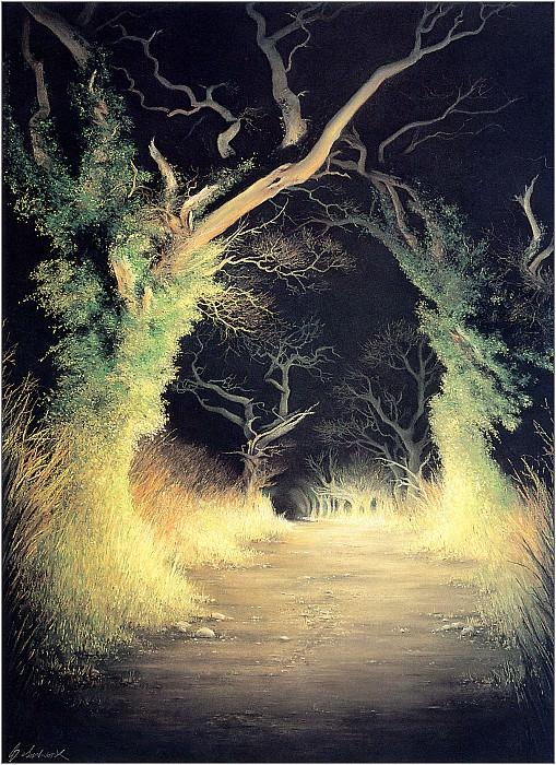 Anne Sudworth Earth Light Trees - Xxx 1306. Anne Sudworth