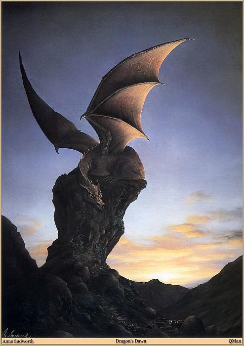 QMan AS EW 1545 Dragons Dawn. Anne Sudworth