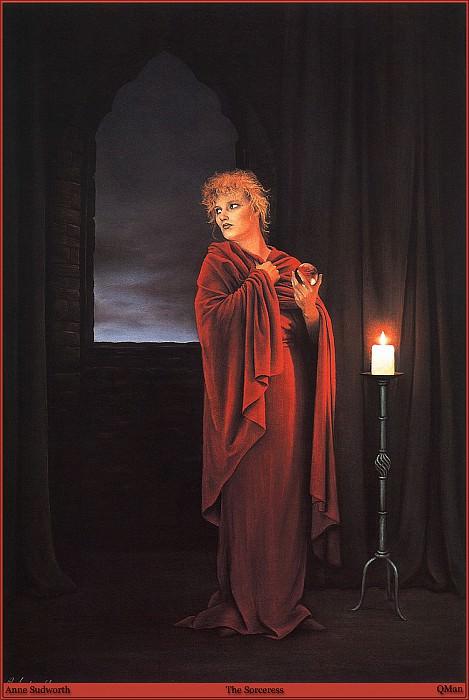 QMan AS EW 1547 The Sorceress. Anne Sudworth