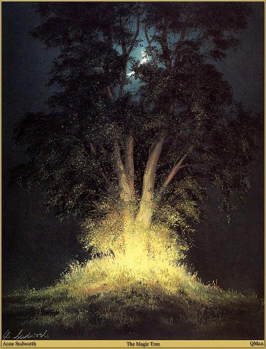 QMan AS EW 1844 The Magic Tree. Энн Судуорт
