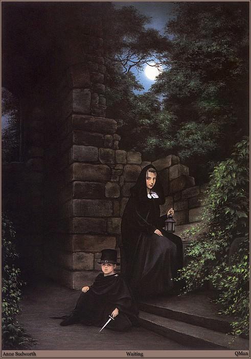 QMan AS EW 1549 Waiting. Anne Sudworth