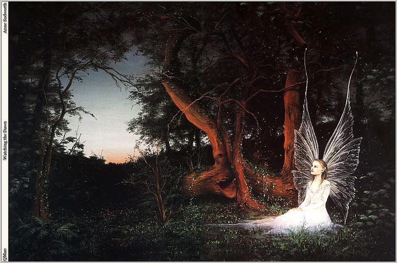 QMan AS EW 1553 Watching the Dawn. Anne Sudworth