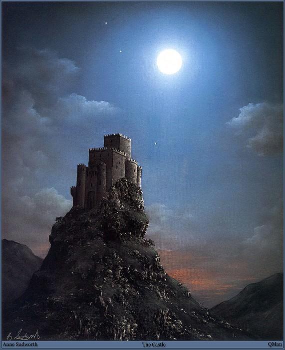 QMan AS EW 1554 The Castle. Anne Sudworth