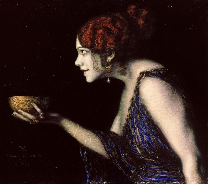 Tilla Durieux as Circe. Franz Von Stuck