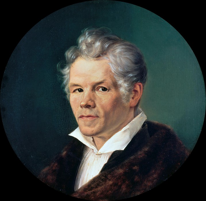 Portrait of Karl Friedrich Schinkel. Carl Schmid