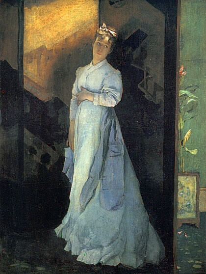 The Farewell Note. Alfred Stevens