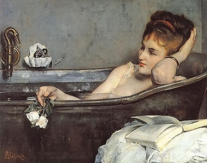 The Bath. Альфред Стевенс