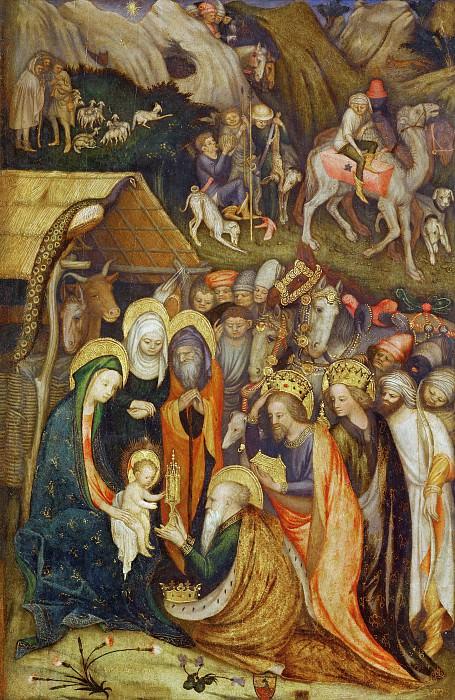 Adoration of the Magi. Stefano da Verona