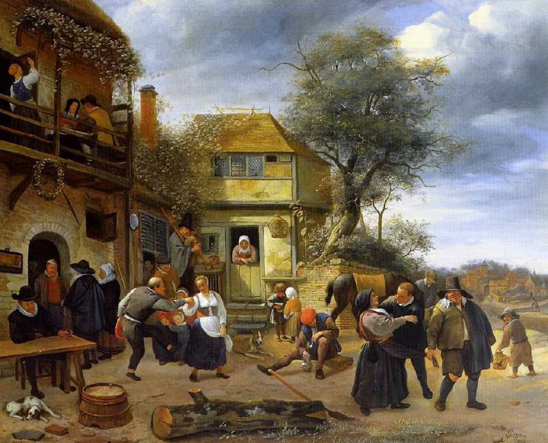 Steen 53Peasants. Jan Havicksz Steen