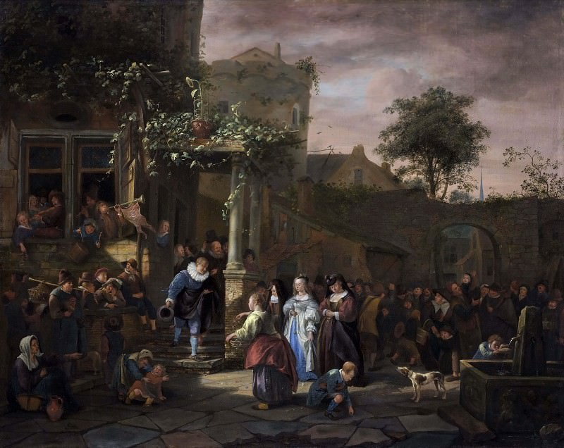 The Village Wedding. Jan Havicksz Steen