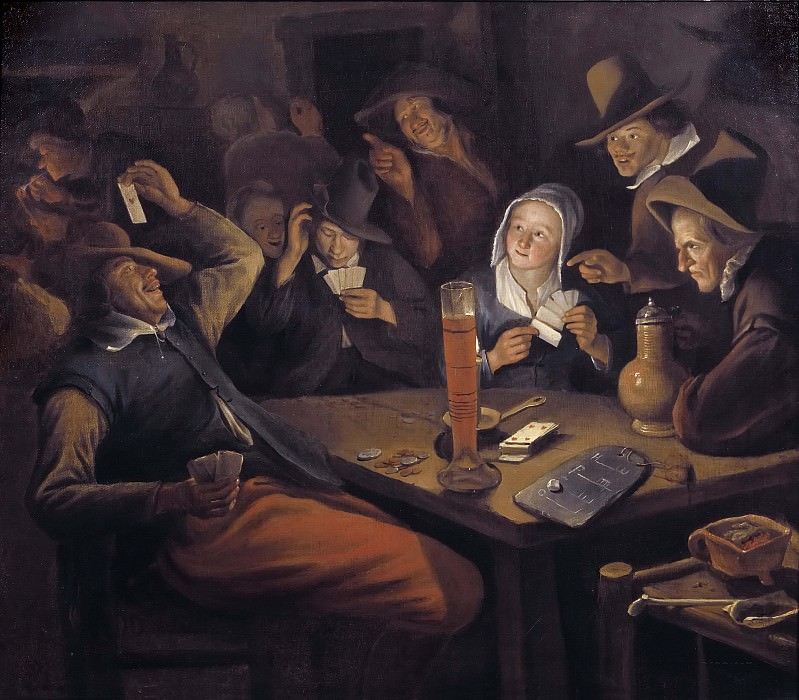 Ace of Hearts. Jan Havicksz Steen