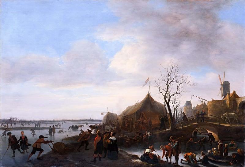 Winter scene. Jan Havicksz Steen