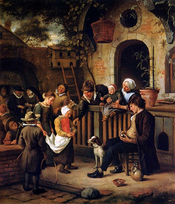 Steen Jan The little collector Sun 2. Jan Havicksz Steen
