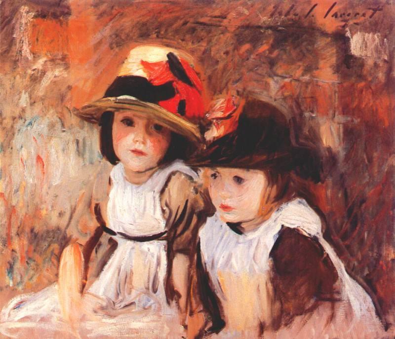 sargent village children 1890. Сарджент,