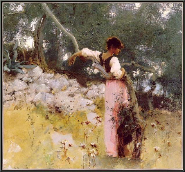 Sargent Capri-Girl-sj. Сарджент,