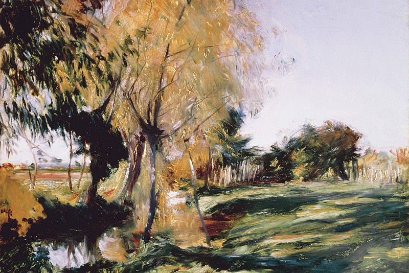 At Broadway, Sargent, 1885 - 1600x1200 - ID 8062. A Sargent