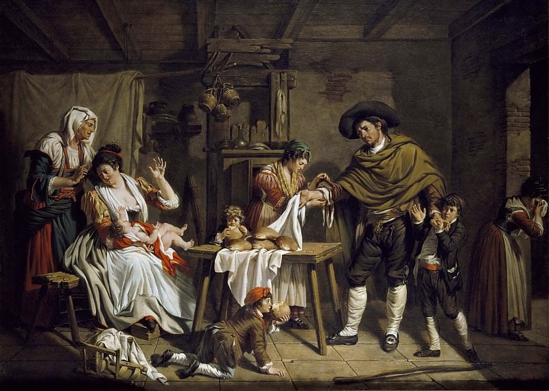 The Self-sacrifice of a father. Jacques Sablet