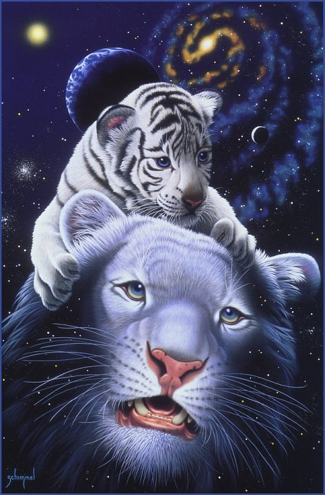 am White Tiger Magic. William Schimmel