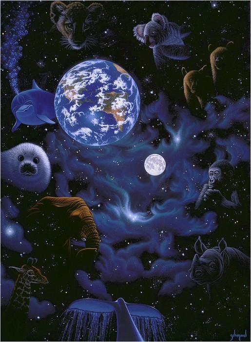 All the Worlds Children. Уильям Шиммель