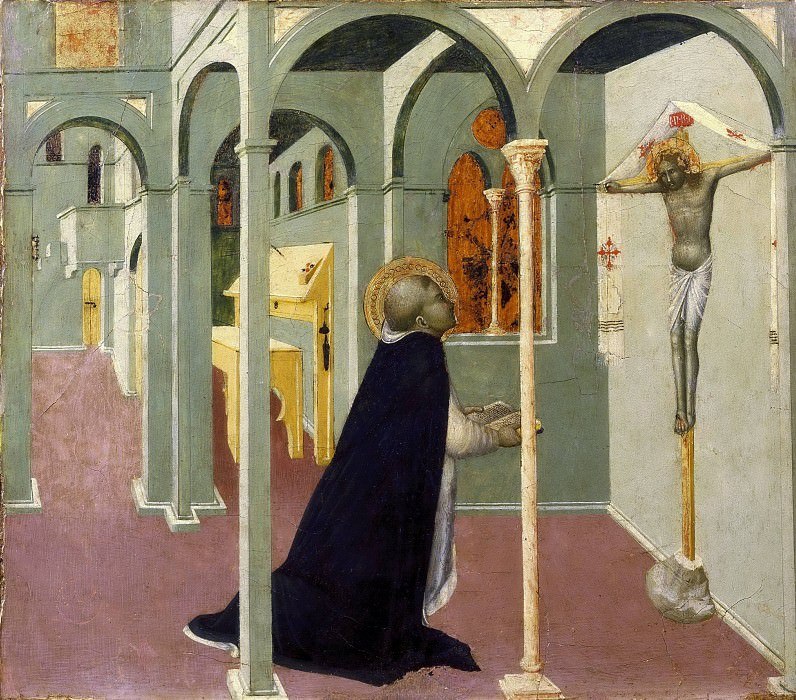 Vision of Saint Thomas Aquinas. Sassetta (Stefano di Giovanni)