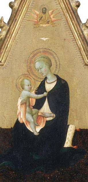 Madonna of Humility. Sassetta (Stefano di Giovanni)