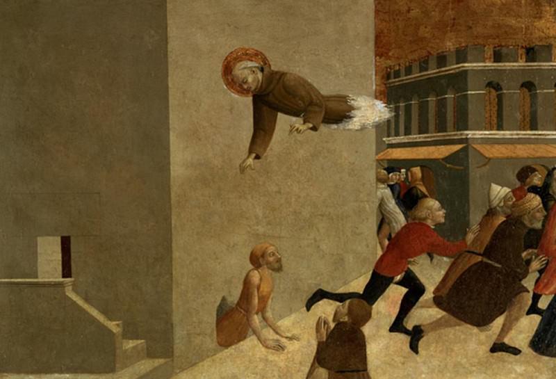 The Blessed Ranieri Rasini delivering the Poor from the Prison in Florence. Sassetta (Stefano di Giovanni)