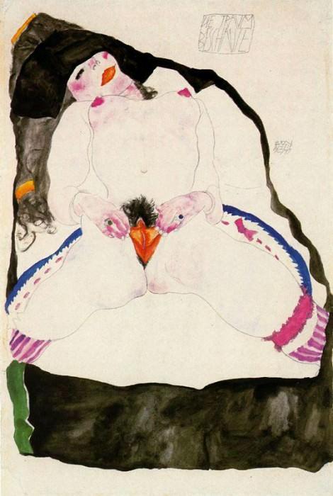 #37998. Egon Schiele