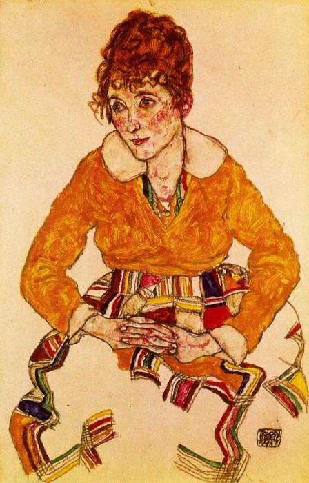 #38019. Egon Schiele