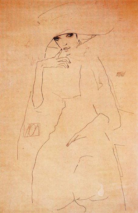 #38007. Egon Schiele