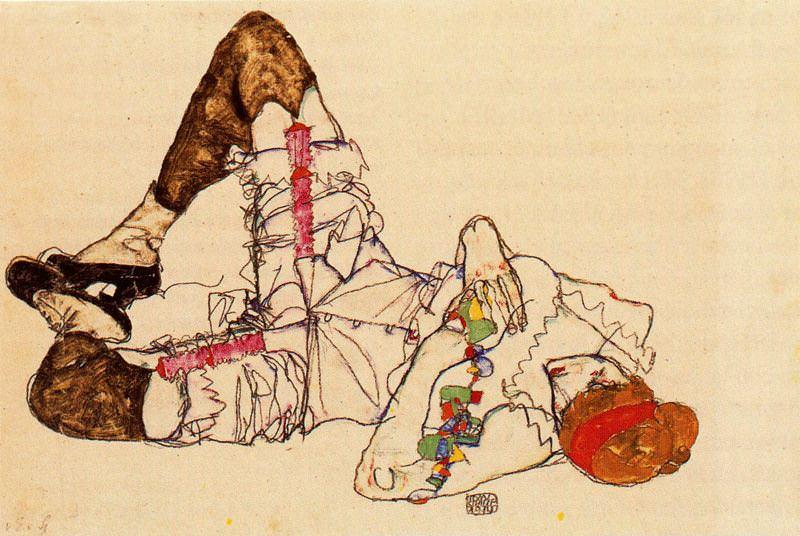 #37916. Egon Schiele