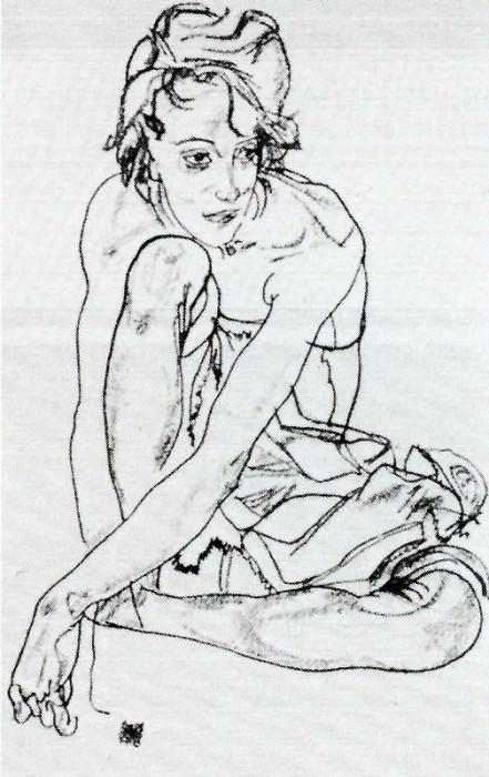 #37910. Egon Schiele